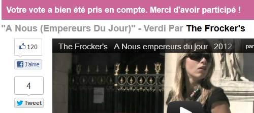 Urgent: votez pour le groupe les Frocker's avant ce soir minuit Captur10