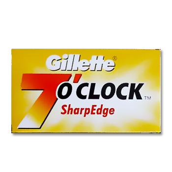 Gillette 7 O'Clock sharp edge (jaune) Gillet10