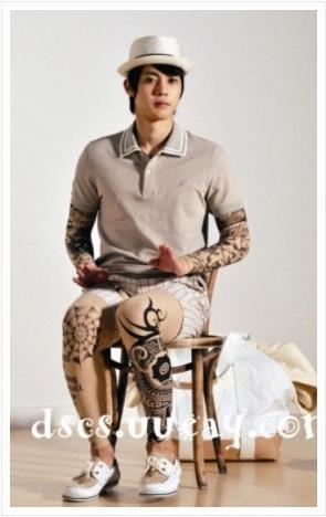 Kim Hyun Joong wearing wrong cloth Kimhyu10