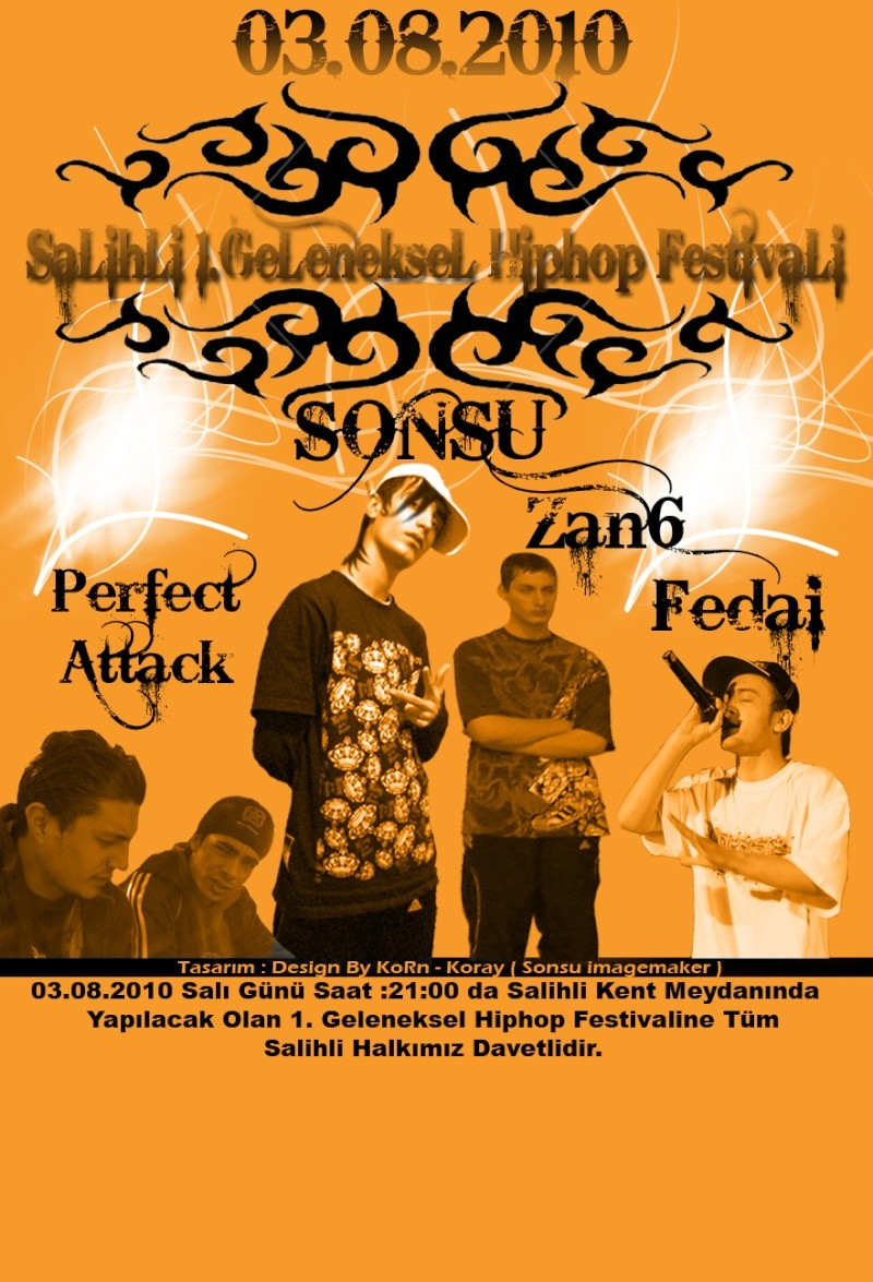Design By KoRn - Salihli Rap Konser Afişi Jpeg10