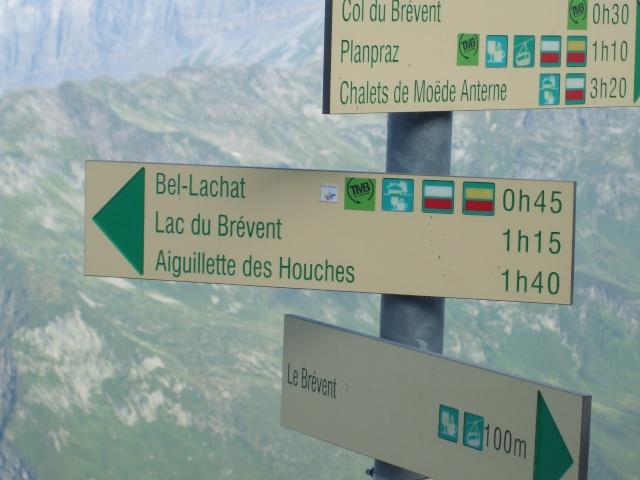 Refuge de bellachat depuis le Brévent Dscf2816