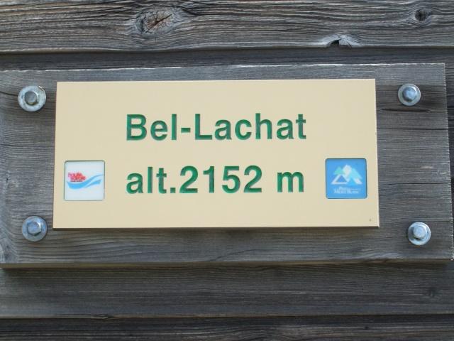 Refuge de bellachat depuis le Brévent Dscf2826