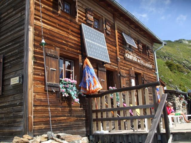 Refuge de bellachat depuis le Brévent Dscf2827