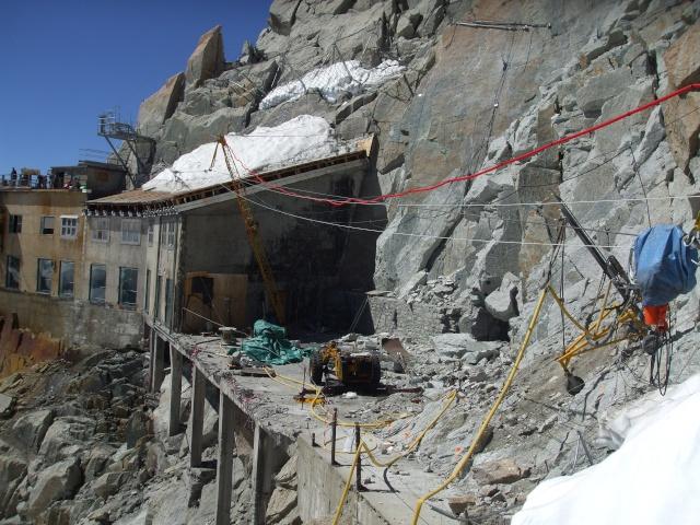 Projet de rénovation de l'Aiguille du Midi Dscf4011