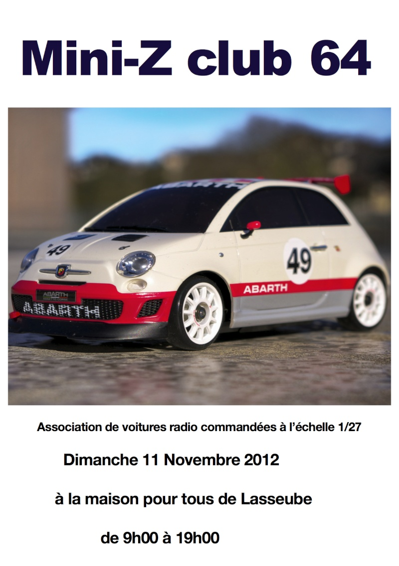 Mini Z club 64 Affich12
