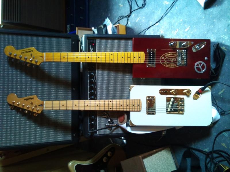 photo de guitar vintage , signature , blues et jazz  Dsc_0110