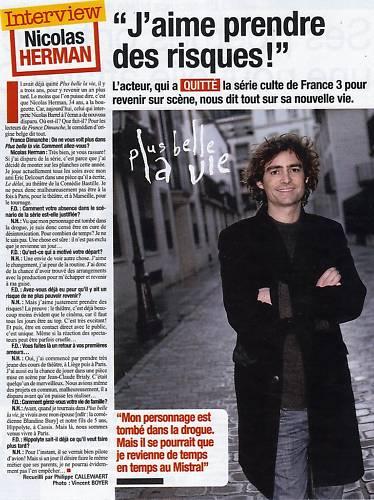 Articles de presses sur Nicolas Herman Bo5oec10
