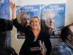 Marine Le Pen élue présidente du FN avec 67,65% % des voix   12286610