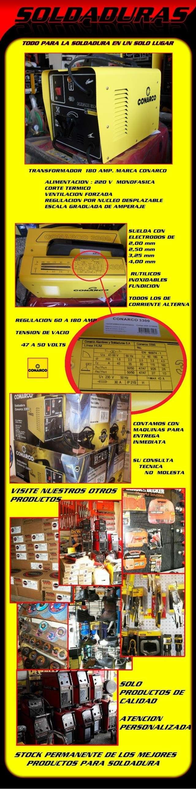 TRANSFORMADOR CONARCO 3300 PARA ELECTRODOS Conarc10