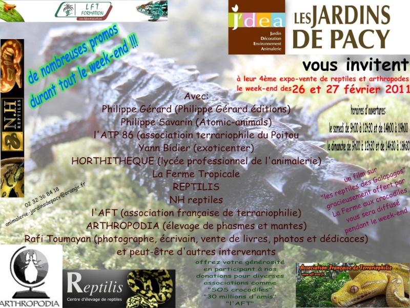 mise à jour 4ème expo-vente de reptiles aux Jardins de Pacy Affich16