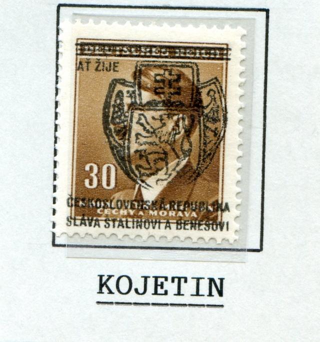 Timbres de la Résistance en Tchécoslovaquie Tcheco11