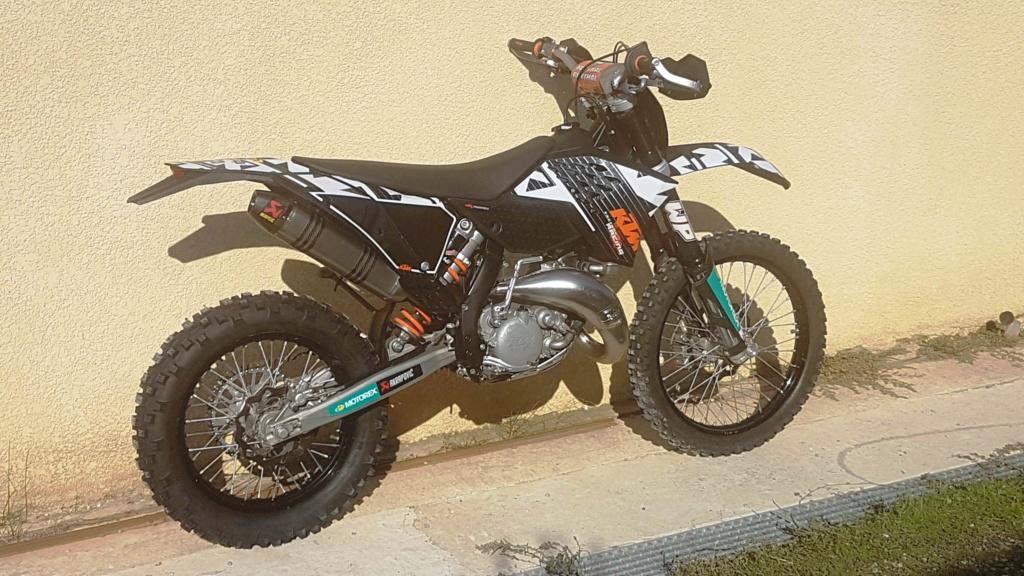 KTM 125 EXC AKRAPOVIC  20191010