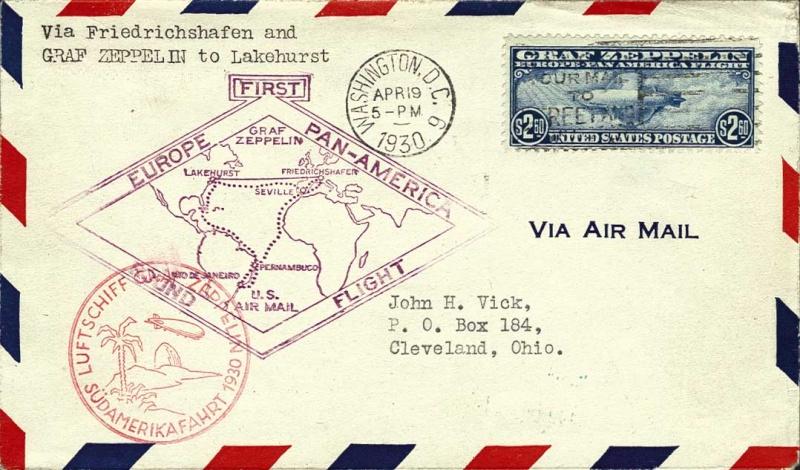 Südamerikafahrt 1930, Post nach Lakehurst - Seite 2 135_fe10