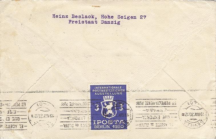nach - Südamerikafahrt 1930, Post nach Lakehurst - Seite 2 57_i_d11