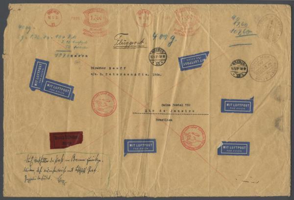 """Südamerikafahrt 1930 (Rundfahrt-) Post nach Friedrichshafen"""" - Seite 3 57_m_s10"""