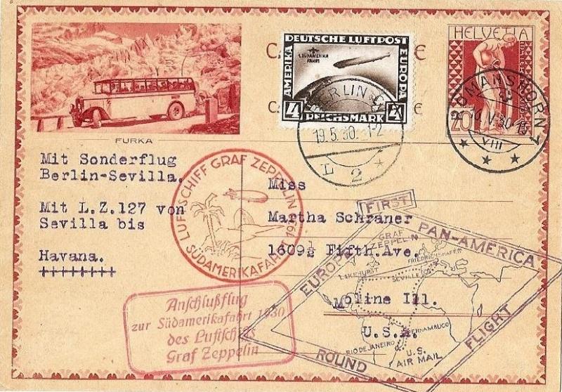 Südamerikafahrt 1930, Post nach Rio de Janeiro - Seite 2 57_uu_10