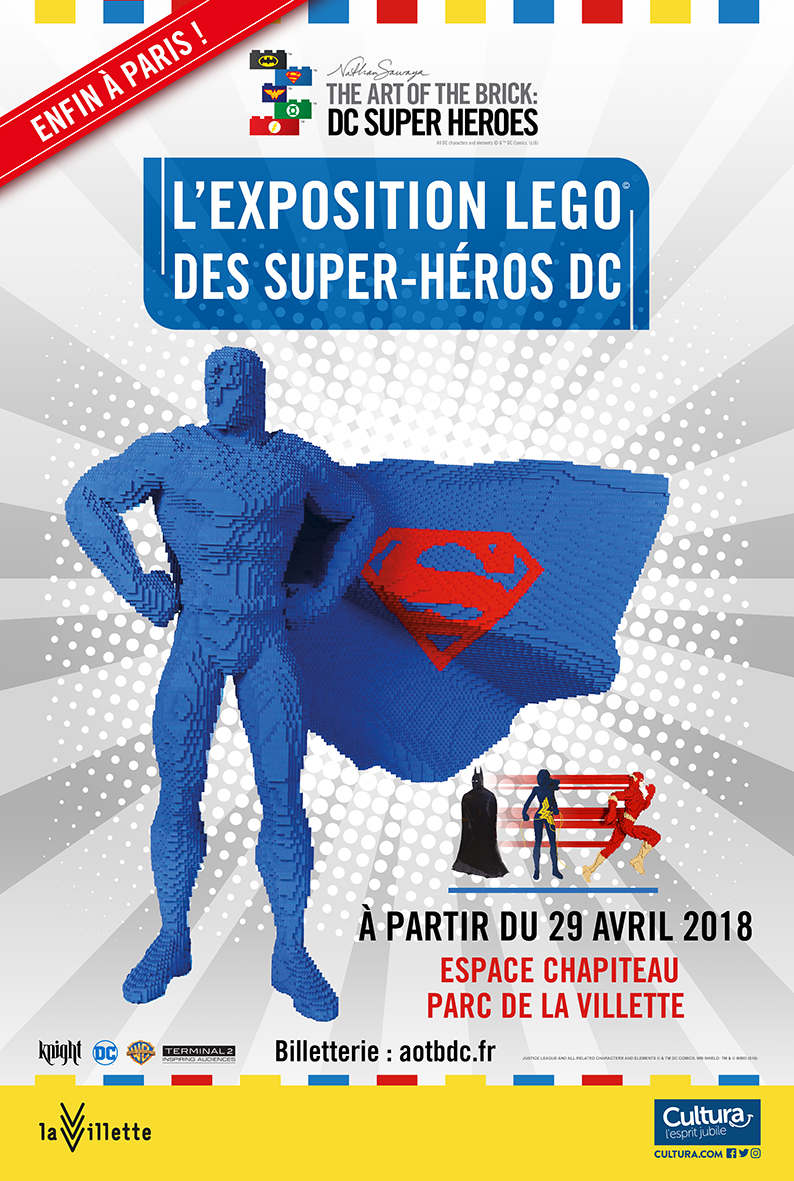 Exposition «The Art of the Bricks / DC Super Heroes» -the-a10
