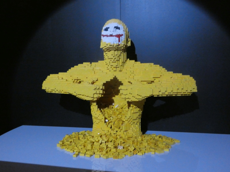 Exposition «The Art of the Bricks / DC Super Heroes» P1020110