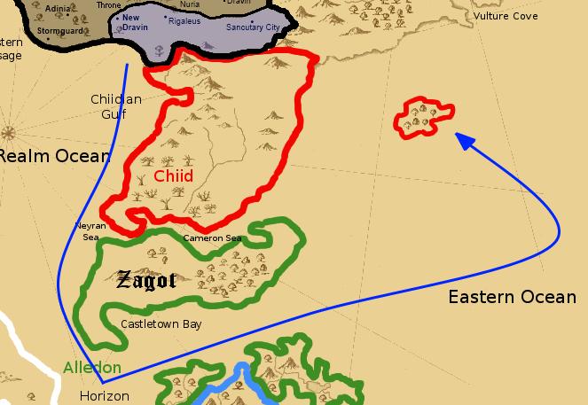 Eldar invade Lone Orc Port Journe10
