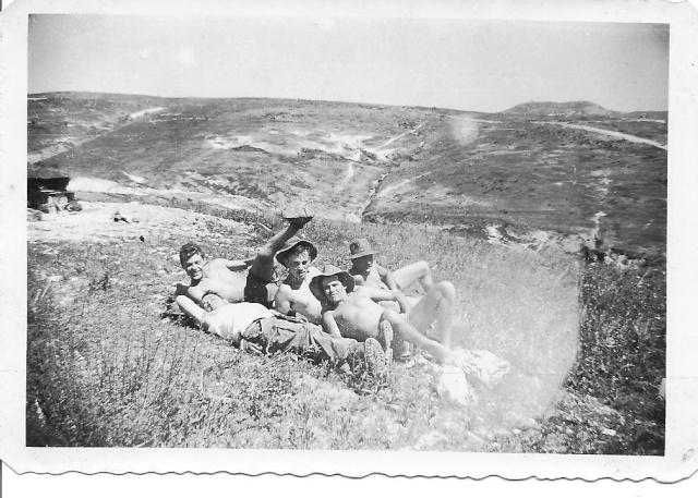Photos Munck (Munk) 1961  Poste dépendant de Bab el Assa 5_munc10