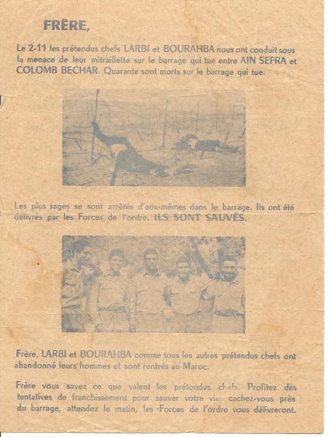 Différents tracts trouvé derrière le barrage, en Zone Interdite / 3ème Bat. 8_a_tr10