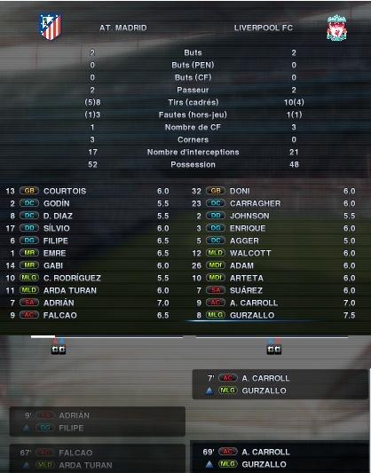 Atlético Madrid - Liverpool A36