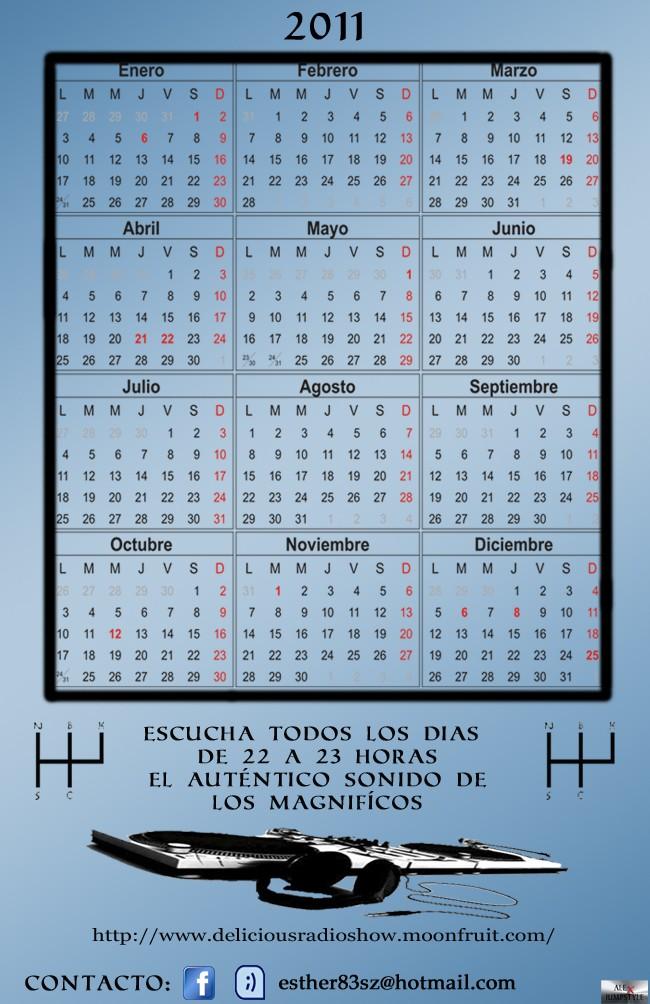 """NUEVO CALENDARIO DEL 2011 """"LOS MAGNIFICOS"""" Calend11"""
