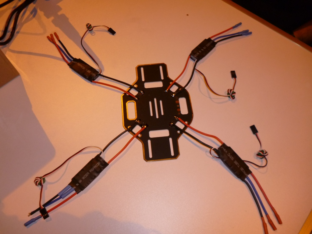 Le multi-rotor du club Quadri12