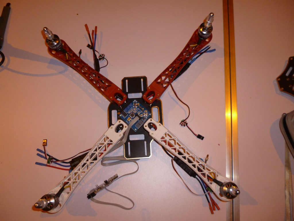 Le multi-rotor du club Quadri13