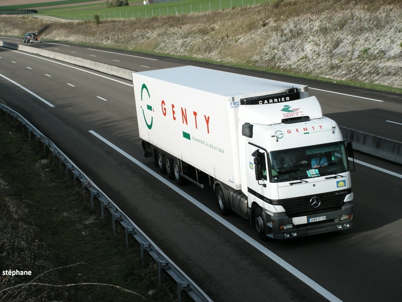 Genty (Frontenay Rohan/Rohan, 79) Camion15