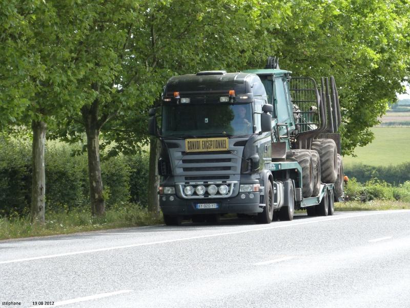 Transports de tracteurs forestier Le_19_57