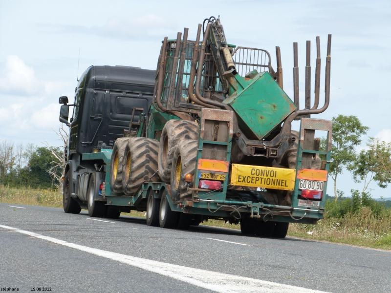 Transports de tracteurs forestier Le_19_58
