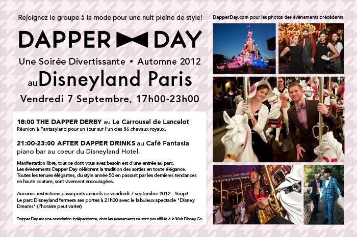 le DAPPER DAY débarque à Paris Fall2011