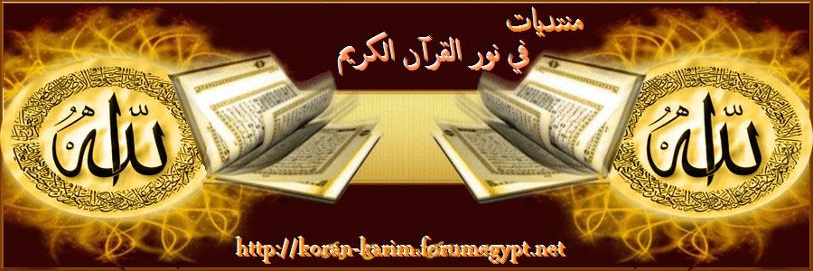 منتديات في نور القرآن الكريم