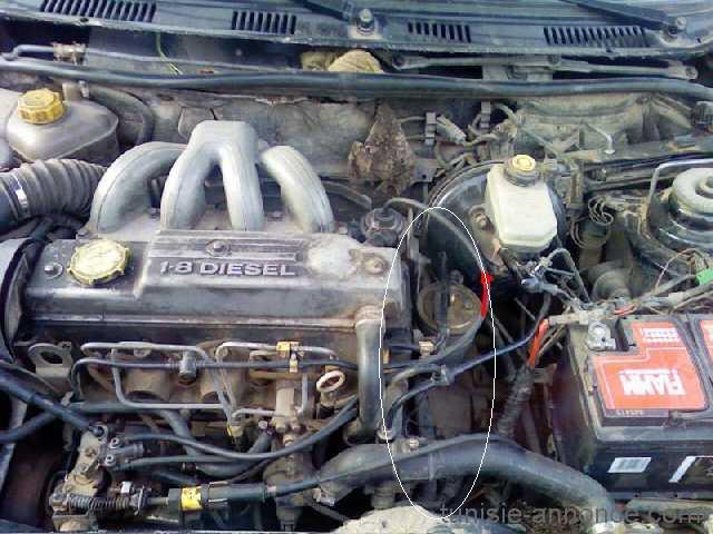 [ Ford mondéo 1.8 td an 1994 ] Perte de puissance et Coupure intempestive du moteur Moteur11