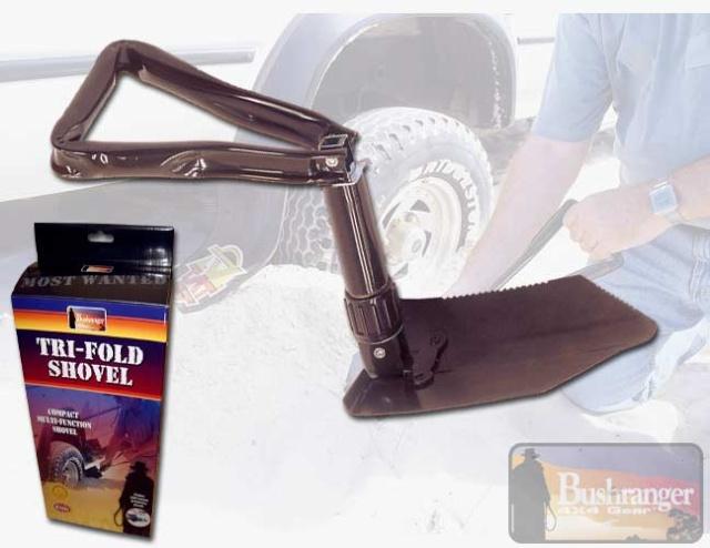 Recovery Shovel by Bush Ranger Trifol10