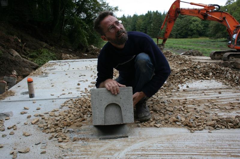 Aménagement d'un pont pour les chauves-souris : ça remu à Pont calek Img_3015