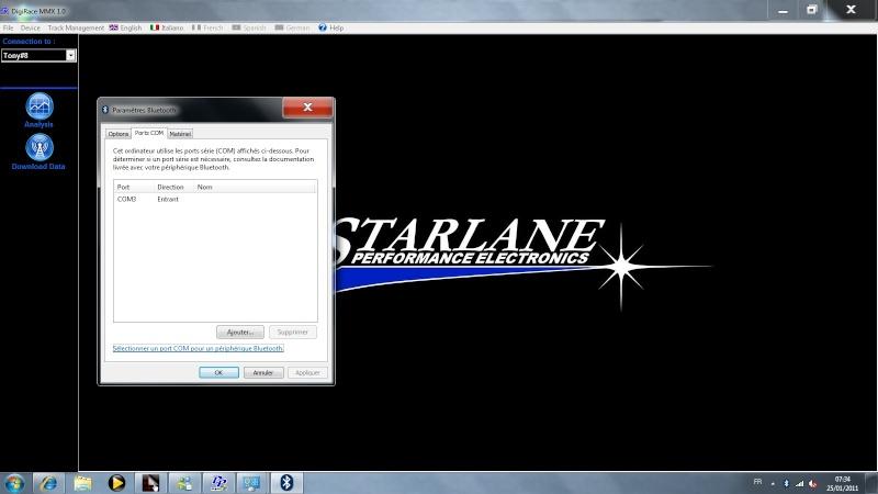 Recensement Circuit sur Starlane Starla10