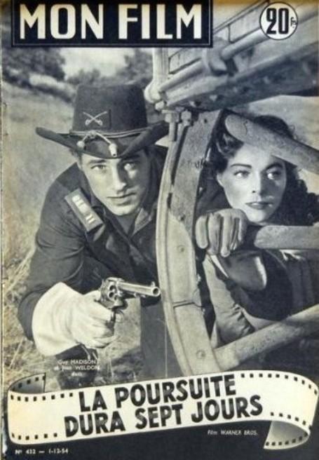 La poursuite dura sept jours- The Command- 1954- David Butler. 51gouv10