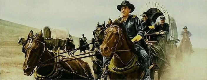 La poursuite dura sept jours- The Command- 1954- David Butler. Sansti11