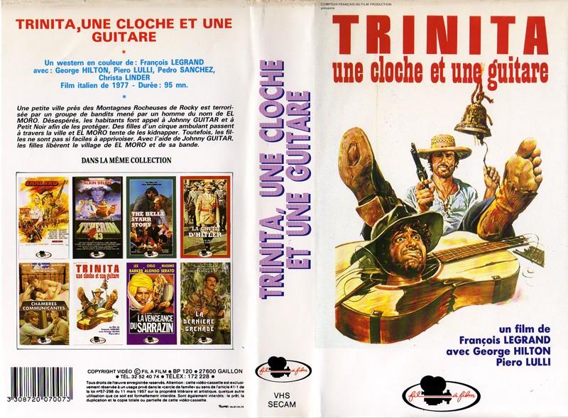 GUIDE DES SPAGHETTI WESTERNS SEULEMENT DISPONIBLES EN VHS.  Trinit10