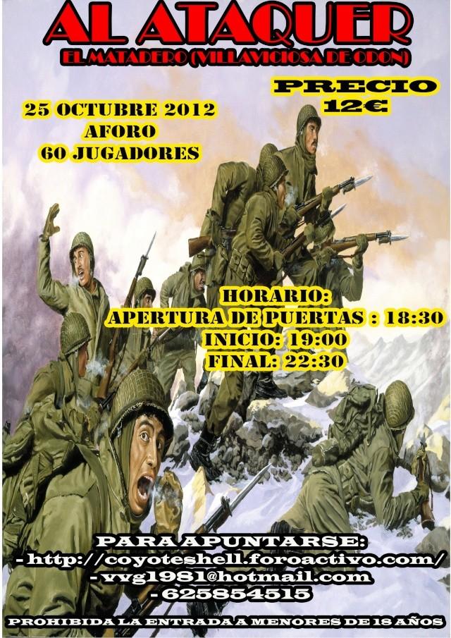 Al ataquer, partida intersemanal 25.10.12 (De Tarde) El Matadero (Villaviciosa de Odon) Alataq11