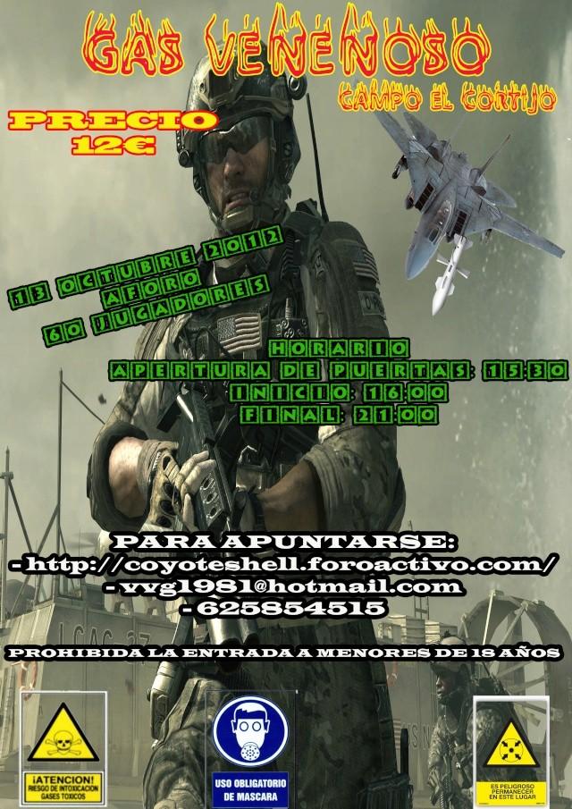 Gas venenoso, partida abierta (De Tarde) 13.10.12 en El Cortijo Gasven10