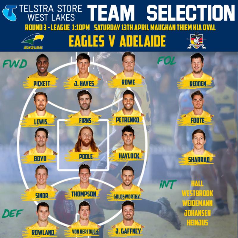 Round 3 Eagles v Adelaide  Round-14