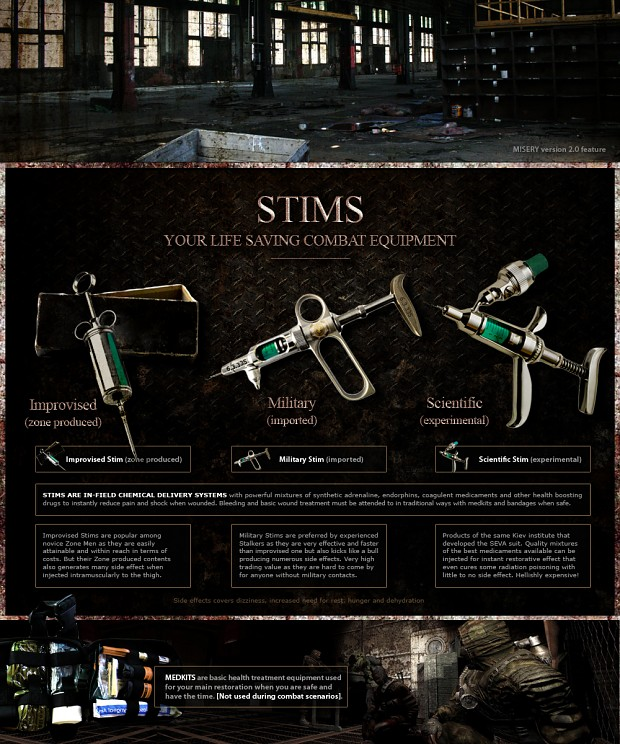 STALKER: Call of Pripyat MISERY (eng) Stims10