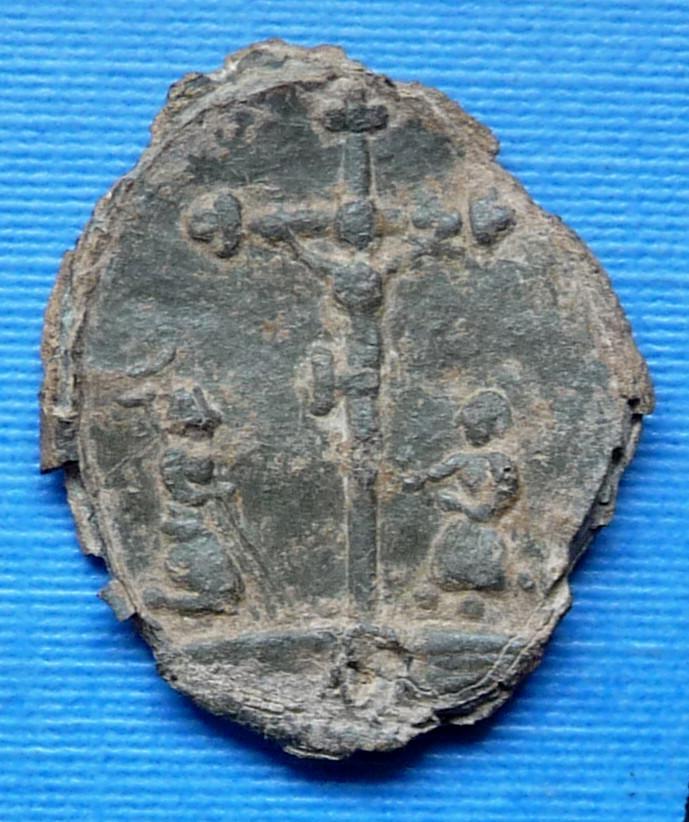 Médaille Saint Suaire de Besançon - XVIIème nouvelle photo P1020114