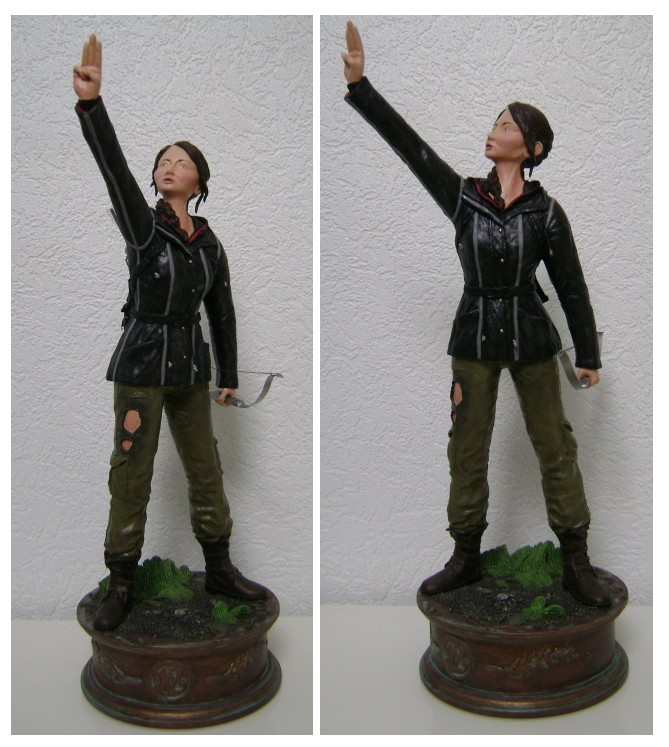 Sculpture de Diablo : Katniss Everdeen 1/6 statue (Hunger Games) Katnis10