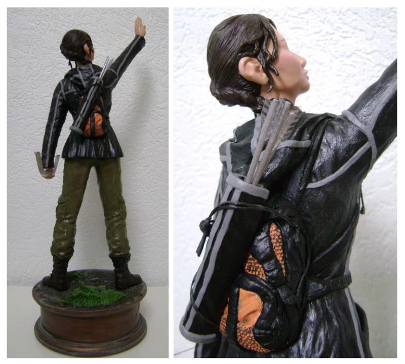 Sculpture de Diablo : Katniss Everdeen 1/6 statue (Hunger Games) Katnis12