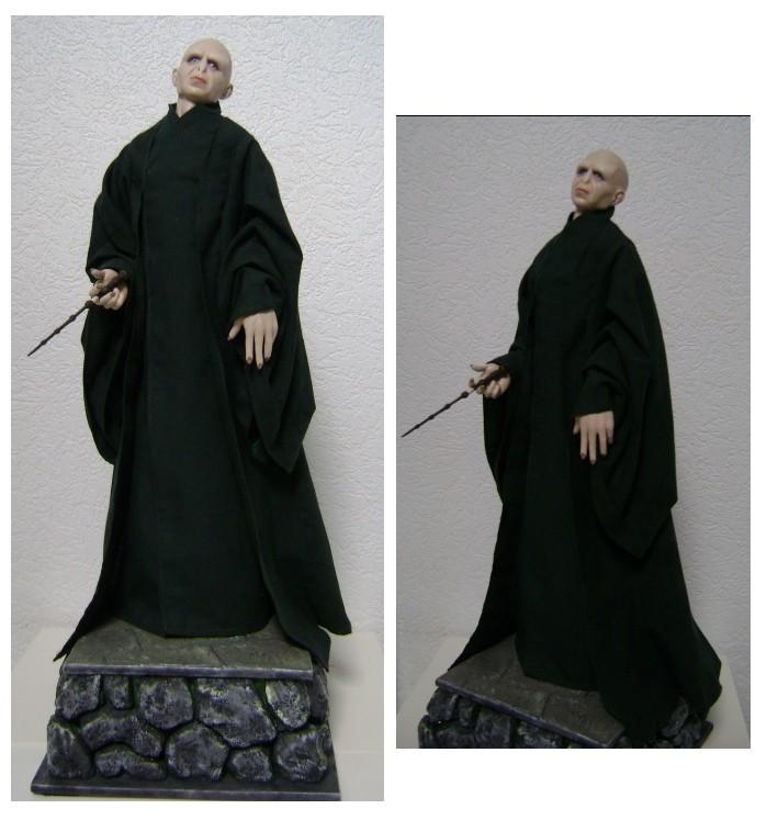 Sculpture de Diablo : Voldemort HP7 part2 1/4 scale Voldem10