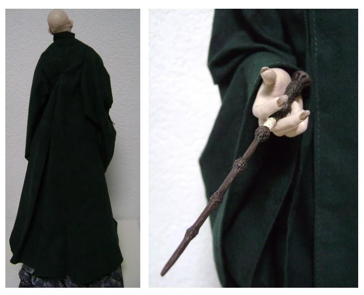 Sculpture de Diablo : Voldemort HP7 part2 1/4 scale Voldem11